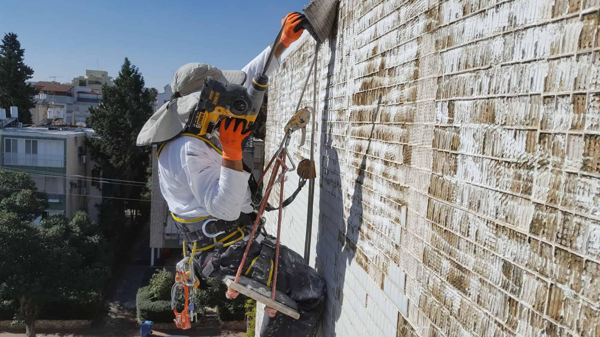 עבודות איטום קירות