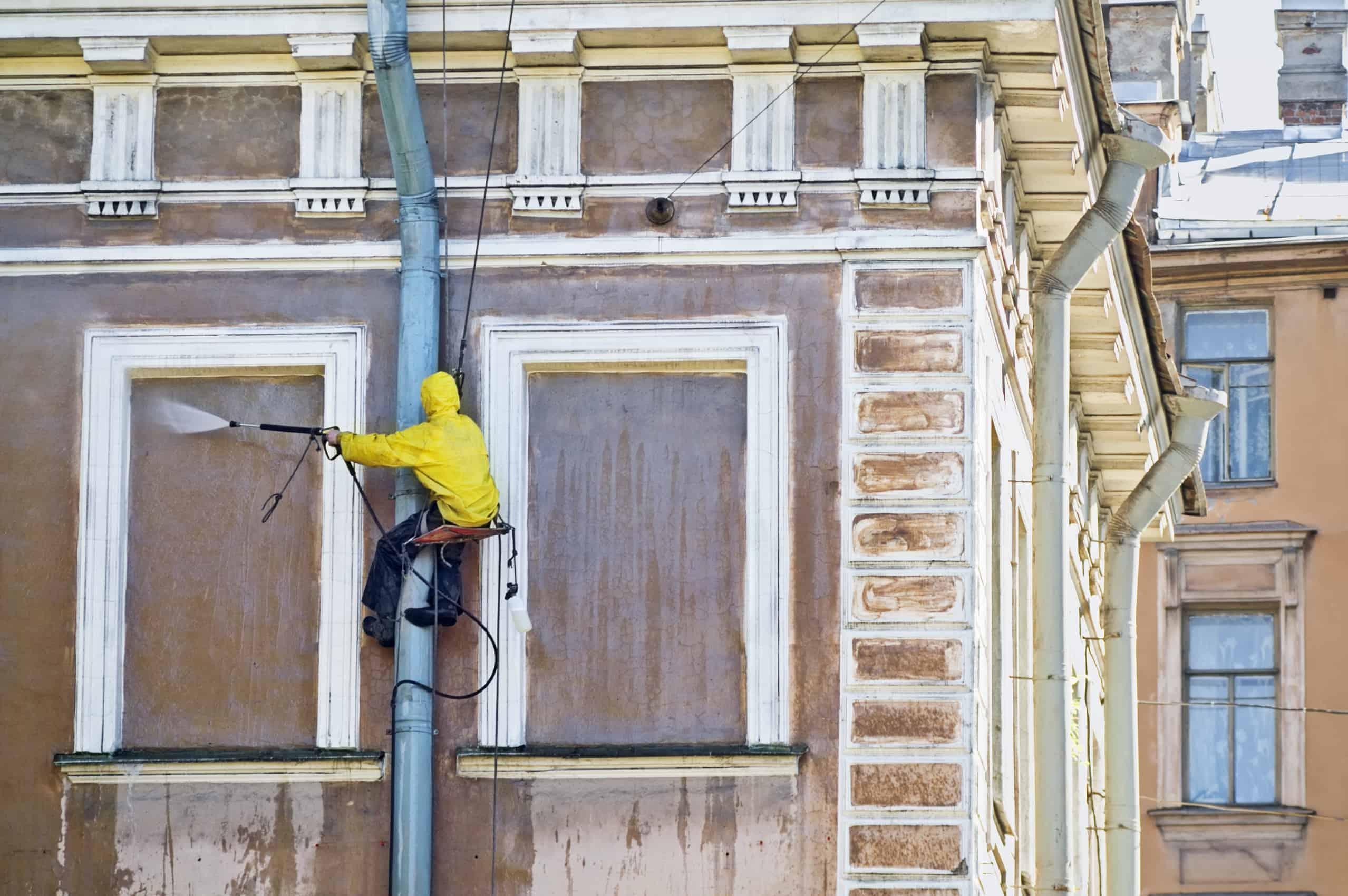 תיקון ושיפוץ חזיתות בניינים